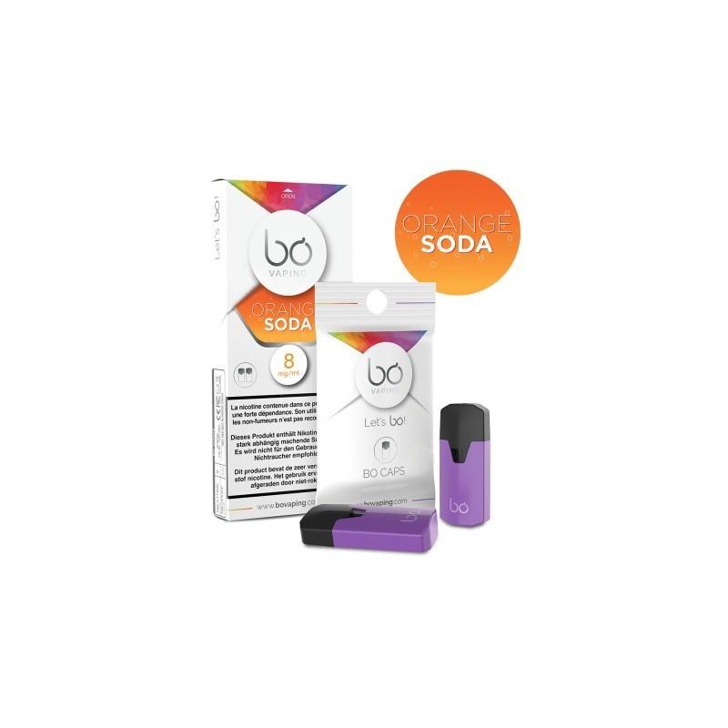 Bo Caps - Orange Soda