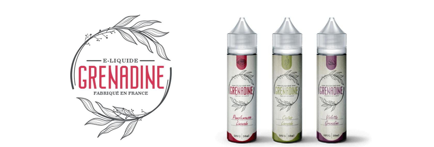 E-liquides J WELL 50ML au parfum GRENADINE